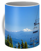Mount Jefferson And Chairlifts Coffee Mug