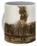 Mount Lassen Volcano California 1914 Coffee Mug