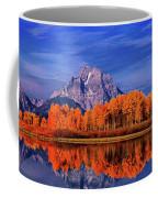 Mount Moran And Fall Color Grand Tetons Coffee Mug