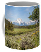 Mount Moran View Coffee Mug by Brian Harig