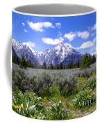 Mount Moran Wildflowers Coffee Mug by Brian Harig