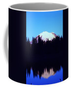 Mount Rainer At Tipsoe Lake In The Sunrise Coffee Mug