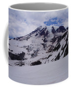 Mount Rainer In The Clouds Coffee Mug