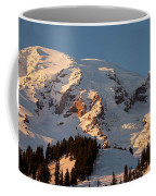 Mount Rainier Alpenglow Coffee Mug