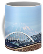Mount Rainier Backdrop Coffee Mug