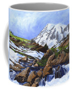 Mount Rainier From Edith Creek Coffee Mug