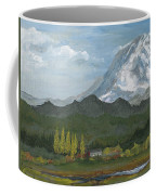 Mount Rainier From Lake Rap John  Coffee Mug