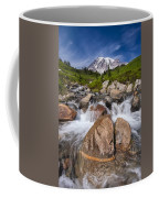 Mount Rainier Glacial Flow Coffee Mug