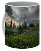 Mount Rainier Meadows Storm Brewing Coffee Mug