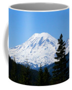 Mount Rainier Panorama Coffee Mug