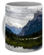 Mount Rundle And Vermilion Lake Coffee Mug