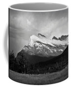 Mount Rundle At Banff National Park Coffee Mug
