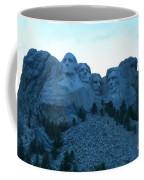 Mount Rushmore Blues Coffee Mug