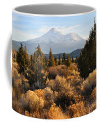 Mount Shasta In The Fall  Coffee Mug