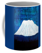 Mount Shasta Original Painting Coffee Mug