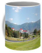 Mount Washington Hotel In New Hampshires White Mountains Coffee Mug