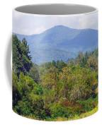 Mountain And Valley Near Brevard Coffee Mug