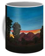 Mountain At Night Coffee Mug