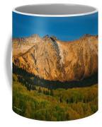 Mountain Autumn Sunrise Coffee Mug