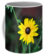 Mountain Daisy Yellow Coffee Mug