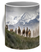 Mountain Dust Storm Coffee Mug