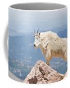 Mountain Goat Up High Coffee Mug