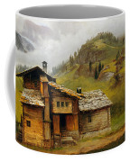 Mountain House  Coffee Mug by Albert Bierstadt