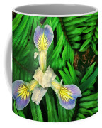 Mountain Iris And Ferns Coffee Mug