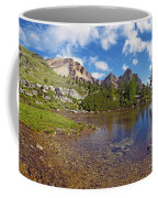 Mountain Lake In The Dolomites Coffee Mug