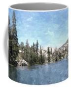 Mountain Lake Retreat Coffee Mug