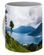 Mountain Lakes In Guatemala Coffee Mug