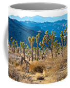 Mountain Layer Landscape From Quail Springs In Joshua Tree Np-ca- Coffee Mug