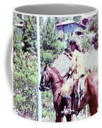 Mountain Man On A Horse Coffee Mug