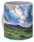 Mountain Meadow Of Flowers Coffee Mug