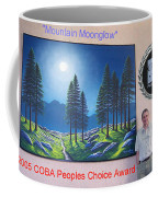 Mountain Moonglow Mural Coffee Mug