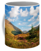 Mountain Pastoral. Rest And Be Thankful. Scotland Coffee Mug