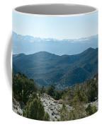 Mountain Range, White Mountains Coffee Mug