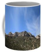 Mountain Range - Wyoming Coffee Mug