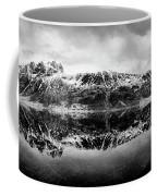 Mountain Reflection Coffee Mug by Dave Bowman