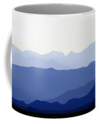 Mountain Silhouettes Coffee Mug