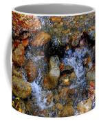 Mountain Stream In Autumn Coffee Mug
