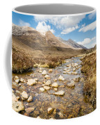 Mountain Stream From Beinn Eighe Coffee Mug