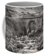 Mountain Stream With Bridge Coffee Mug