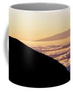 Mountain Top Above The Clouds Coffee Mug