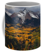 Mountainous Storm Coffee Mug