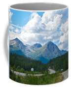 Mountains Along Cassiar Highway In Yt Coffee Mug