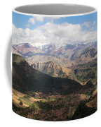 Mountains Along N9, Al Haouz Coffee Mug