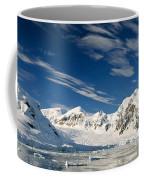 Mountains And Glaciers, Paradise Bay Coffee Mug