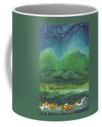Mountains At Night Coffee Mug