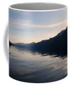 Mountains At Sunset Coffee Mug